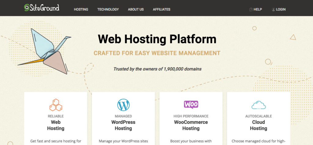 Law Firm Web Hosting - Siteground